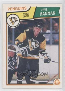 1983-84 O-Pee-Chee - [Base] #281 - Dave Hannan