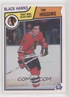 1983-84 O-Pee-Chee #104 - Tim Higgins