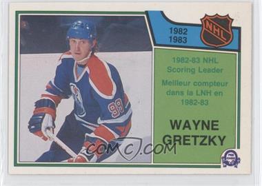 1983-84 O-Pee-Chee #217 - Wayne Gretzky