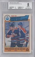 Mark Messier, Wayne Gretzky [BGS 8]