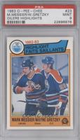 Mark Messier, Wayne Gretzky [PSA 9]