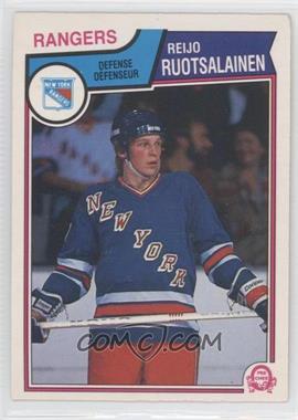 1983-84 O-Pee-Chee #255 - Reijo Ruotsalainen