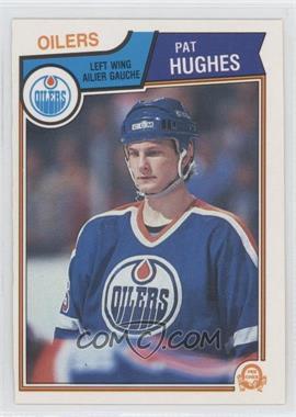 1983-84 O-Pee-Chee #31 - Pat Hughes