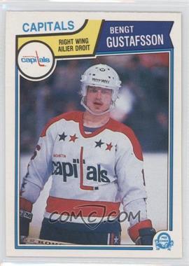 1983-84 O-Pee-Chee #370 - Bengt-Ake Gustafsson
