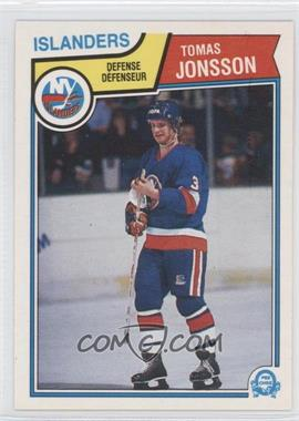 1983-84 O-Pee-Chee #9 - Tomas Jonsson