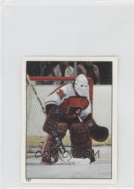 1983-84 Topps Album Stickers [???] #197 - Pelle Lindbergh
