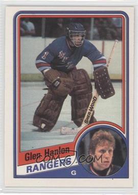 1984-85 O-Pee-Chee - [Base] #142 - Glen Hanlon