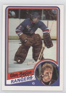 1984-85 O-Pee-Chee #142 - Glen Hanlon