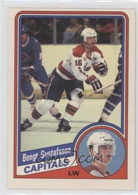 1984-85 O-Pee-Chee #198 - Bengt-Ake Gustafsson