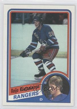 1984-85 Topps #115 - Reijo Ruotsalainen