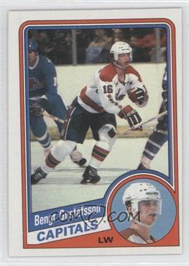 1984-85 Topps #144 - Bengt-Ake Gustafsson