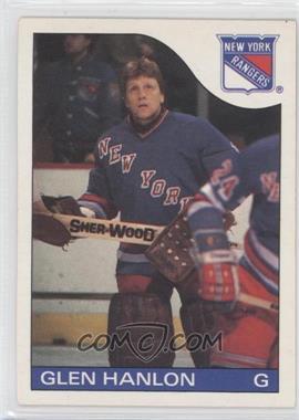1985-86 O-Pee-Chee #149 - Glen Hanlon