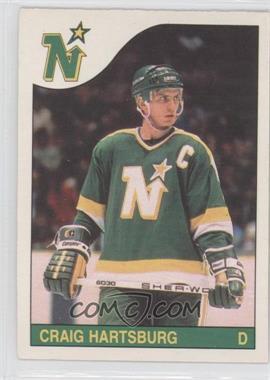 1985-86 O-Pee-Chee #242 - Craig Hartsburg