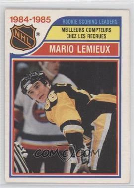 1985-86 O-Pee-Chee #262 - Mario Lemieux
