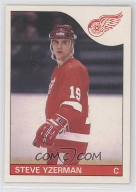 1985-86 O-Pee-Chee #29 - Steve Yzerman