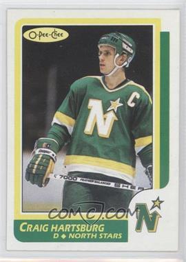 1986-87 O-Pee-Chee #12 - Craig Hartsburg
