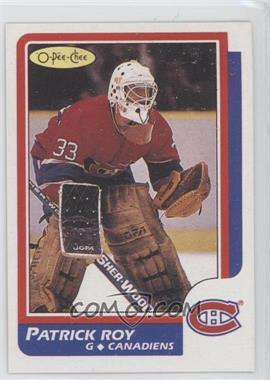 1986-87 O-Pee-Chee #53 - Patrick Roy