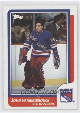 1986-87 Topps - [Base] #9 - John Vanbiesbrouck