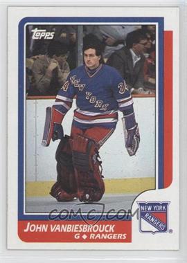 1986-87 Topps #9 - John Vanbiesbrouck