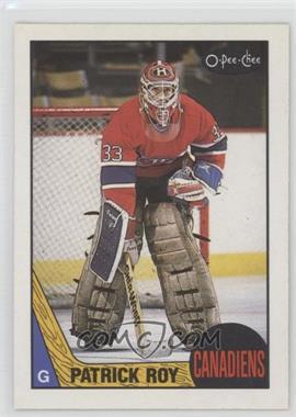 1987-88 O-Pee-Chee - [Base] #163 - Patrick Roy