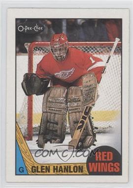 1987-88 O-Pee-Chee - [Base] #89 - Glen Hanlon
