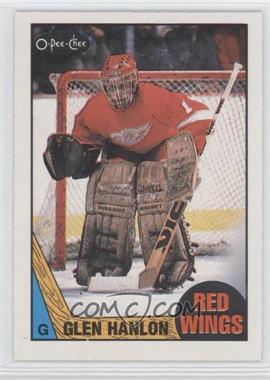 1987-88 O-Pee-Chee #89 - Glen Hanlon