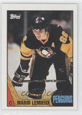 1987-88 Topps #15 - Mario Lemieux