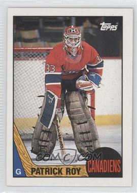1987-88 Topps #163 - Patrick Roy
