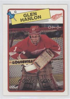 1988-89 O-Pee-Chee - [Base] #150 - Glen Hanlon