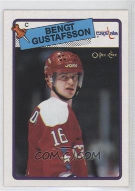 1988-89 O-Pee-Chee - [Base] #151 - Bengt-Ake Gustafsson