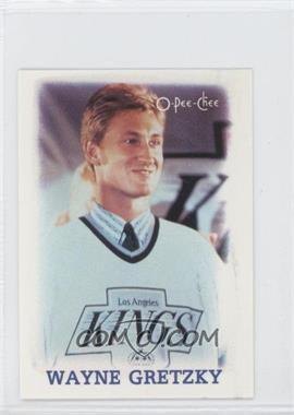 1988-89 O-Pee-Chee NHL Stars Mini - Etoiles Stars #11 - Wayne Gretzky