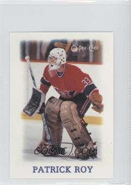 1988-89 O-Pee-Chee NHL Stars Mini - Etoiles Stars #33 - Patrick Roy