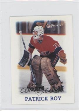 1988-89 O-Pee-Chee NHL Stars Mini [???] #33 - Patrick Roy