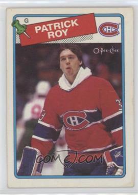 1988-89 O-Pee-Chee #116 - Patrick Roy
