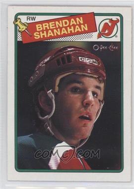 1988-89 O-Pee-Chee #122 - Brendan Shanahan