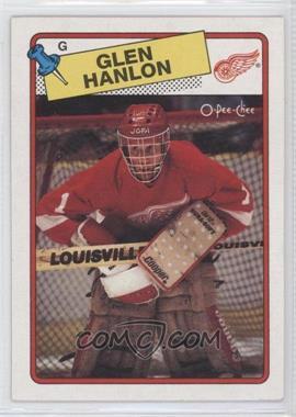1988-89 O-Pee-Chee #150 - Glen Hanlon