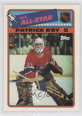 1988-89 Topps - All-Star Stickers #12 - Patrick Roy
