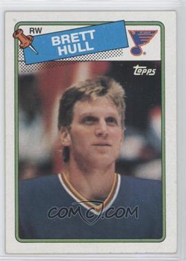 1988-89 Topps - [Base] #66 - Brett Hull
