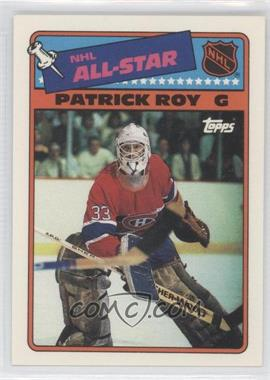 1988-89 Topps All-Star Stickers #12 - Patrick Roy