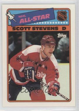 1988-89 Topps All-Star Stickers #4 - Scott Stevens