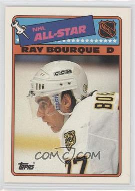 1988-89 Topps All-Star Stickers #5 - Ray Bourque