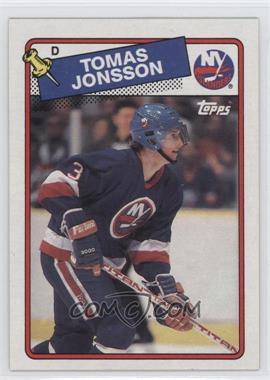 1988-89 Topps #108 - Tomas Jonsson