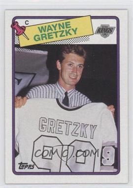 1988-89 Topps #120 - Wayne Gretzky