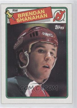 1988-89 Topps #122 - Brendan Shanahan
