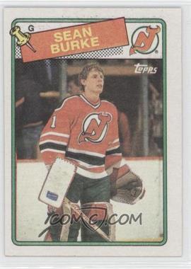 1988-89 Topps #94 - Sean Burke