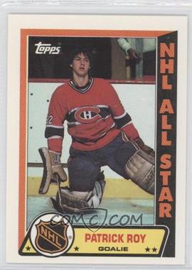 1989-90 Topps Sticker Inserts #6 - Patrick Roy