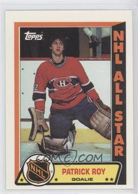 1989-90 Topps Stickers [???] #6 - Patrick Roy