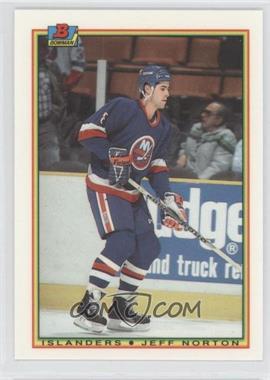 1990-91 Bowman - [Base] - Tiffany #122 - Jeff Norton