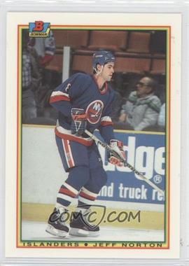 1990-91 Bowman Tiffany #122 - Jeff Norton