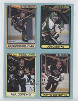 Alexander Mogilny, Jon Casey, Paul Coffey, Wayne Gretzky